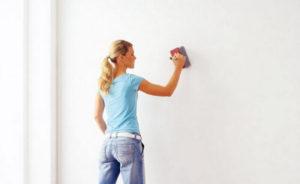 как смыть старую краску со стен