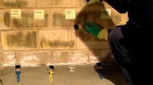 Очистка кирпичных фасадов