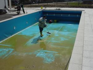 как очистить бассейн