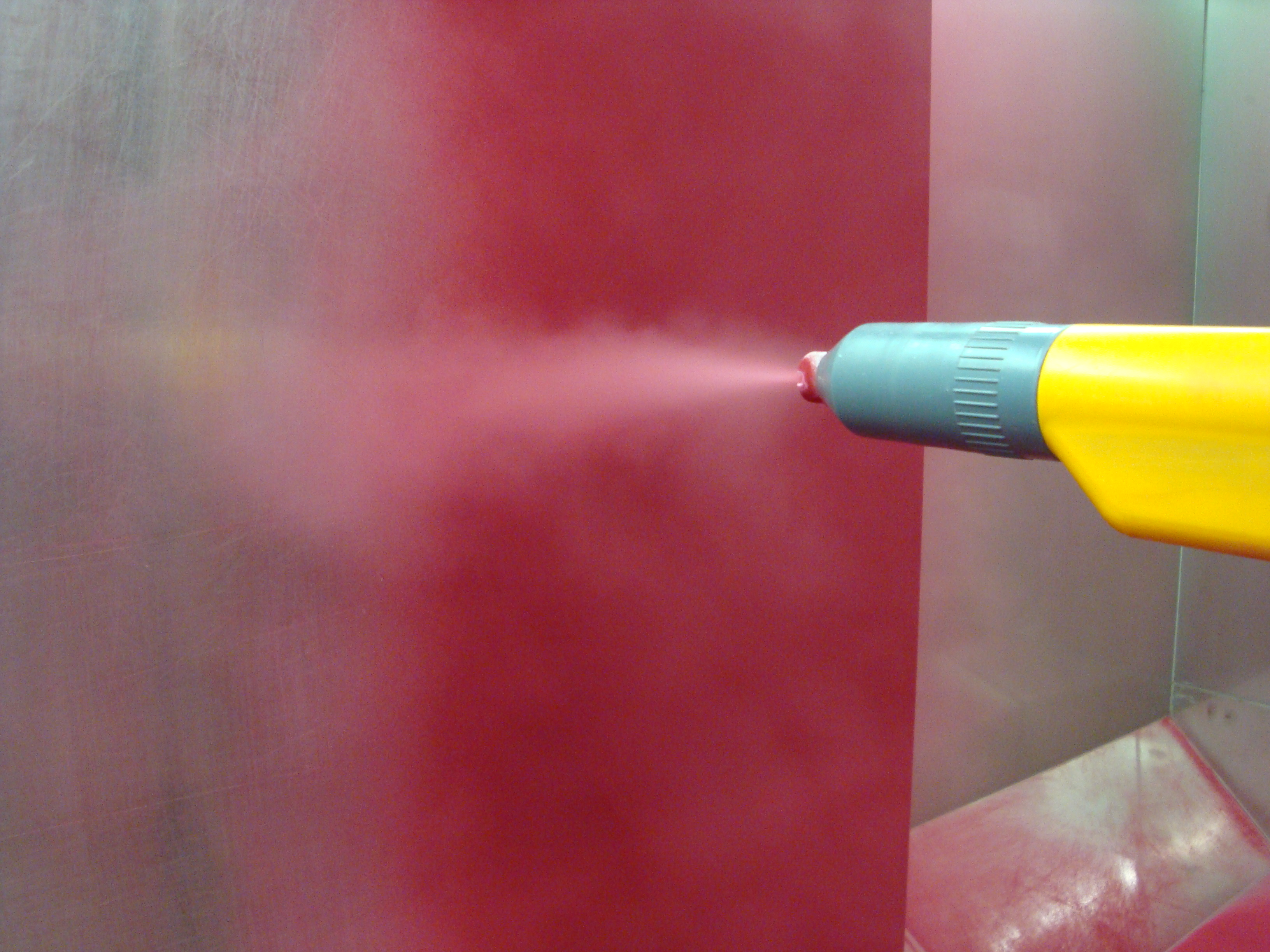 Как покрасить порошковой краской