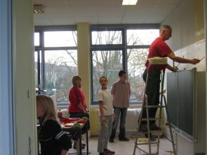 старая краса на стенах: методы снятия