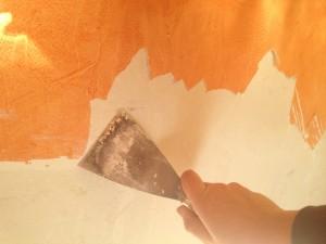 удаление  лакокрасочного покрытия - особенности