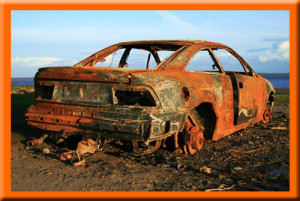 ржавый автомобиль - методы восстановления