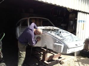 Локальный ремонт лакокрасочного покрытия автомобиля. Советы автолюбителя, методы