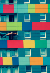 Подбор  цвета фасада дома - специфика