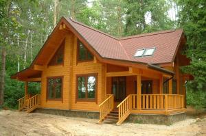 Ремонт деревянного дома после пожара