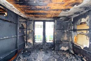 как смыть копоть после пожара