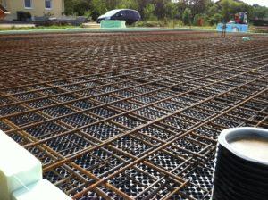 очистка арматуры от ржавчины перед бетонированием