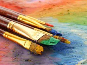 чем отмыть акриловые краски